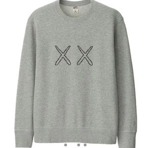 KAWS x Uniqlo x Sesame Street XX Sweatshirt Size L
